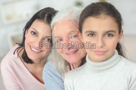 granda mum and daughter