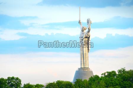 mother motherland monument kiev ukraine