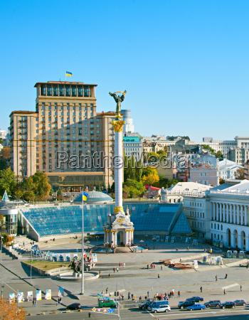 independence square kiev ukraine