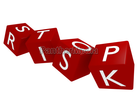 stop risk konzept 3d rendering