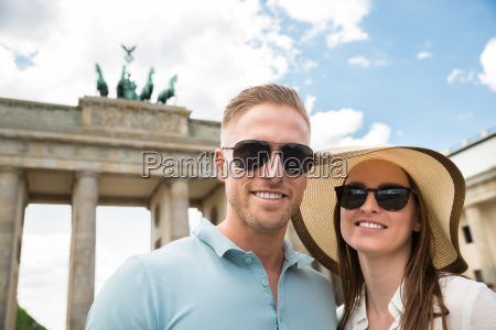 close up of happy young couple