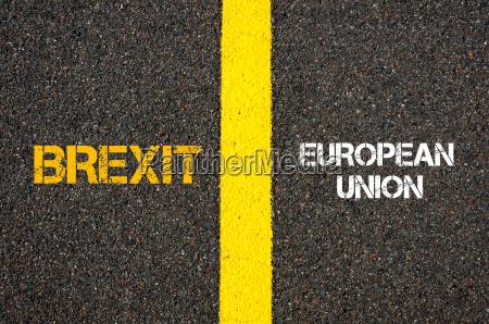 antonym konzept von brexit versus europAEische