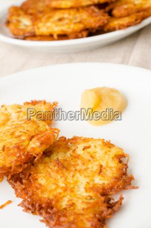 delicious potato fritters
