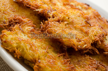 crispy potato fritters