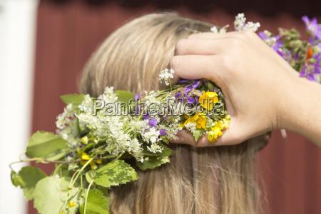 blatt baumblatt feiertag weiblich blaetter hut