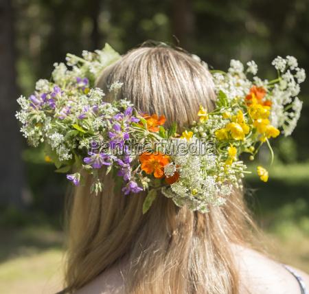 swedish midsummer kopfbedeckung traditionelle