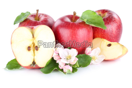 apple apples red fruit fruit cut