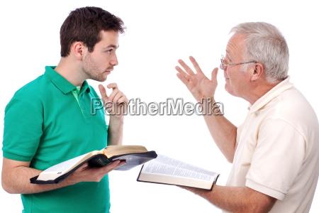alter mann teilen gospel