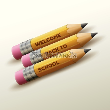 welcome back to school type on