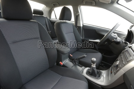 car interior front