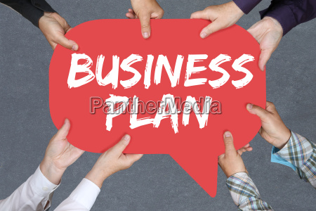 group people holding business plan business