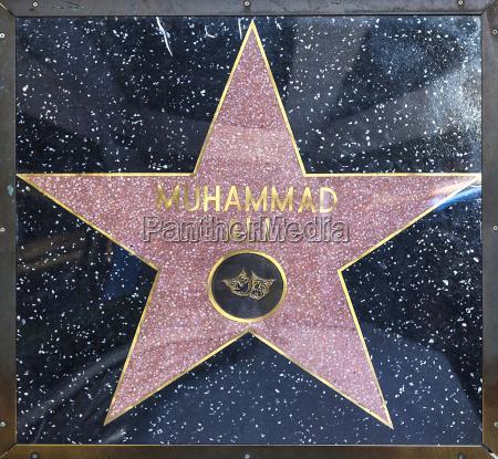 muhammad alis star on hollywood walk