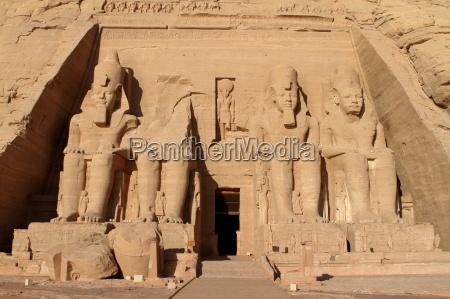 ramses tempel abu simbel in AEgypten