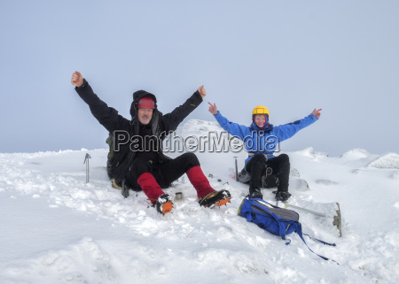 uk scotland glencoe beinn abheithir mountaineering