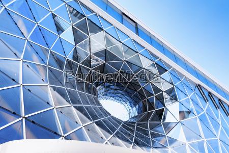 germany hesse frankfurt detail of facade