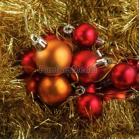 set weihnachtskugeln