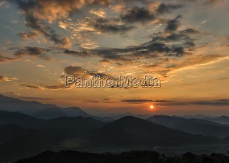 nepal annapurna pokhara sonnenaufgang