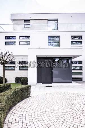 deutschland berlin villa im bauhaus stil