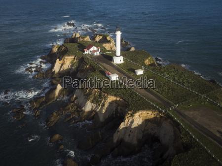 usa california point arena lighthouse