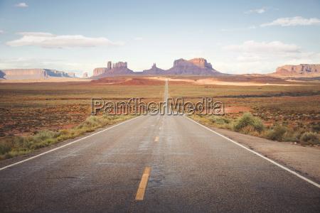 usa arizona road to monument valley