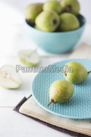 innen frucht obst teller inneres birne