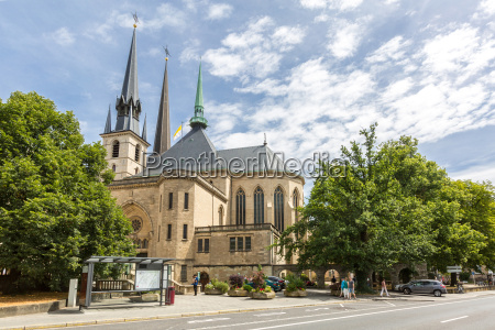 luxembourg city cathedral