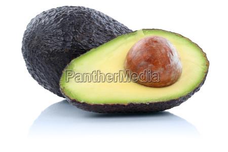 avocado avocados frucht fruechte obst freisteller