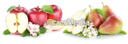 apple and pear apples pears fruit