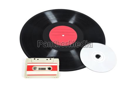 music storage devices vinyl record