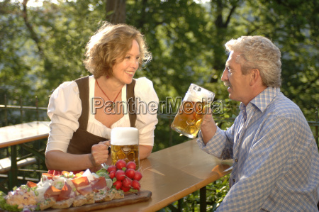 view of a middle aged couple