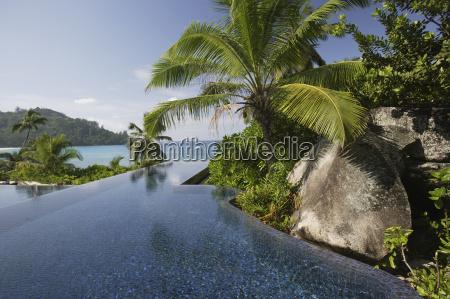 swimming pool of the banyan tree