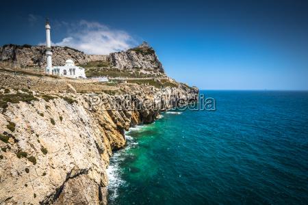 gibraltar von europa point aus gesehen