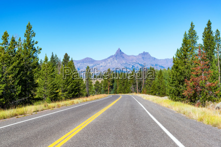 auf dem weg zum yellowstone
