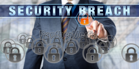 information manager touching security breach
