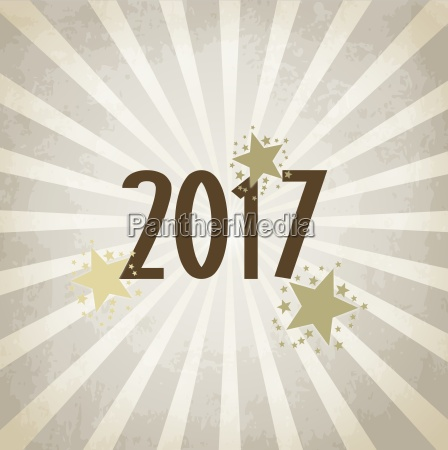 check new year 2017 background