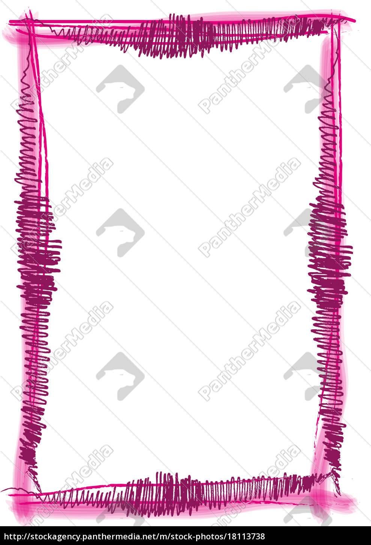 Rahmen Pinsel Strich rot - Stock Photo - #18113738 - Bildagentur ...