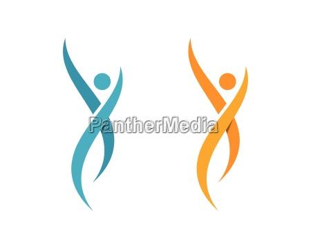 gesundheit, logo-vorlage - 18119228