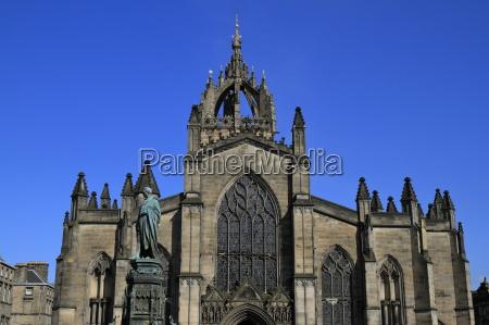 st giles cathedral in edinburgh scotland