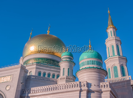 moscow cathedral mosque in russia