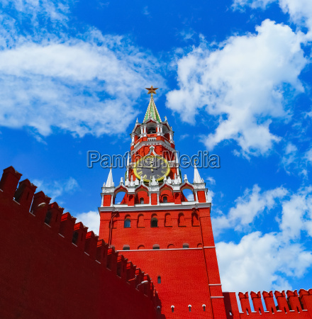 kreml in moskau russland