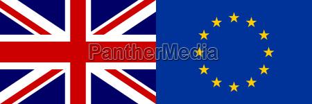 flaggen europas und grossbritanniens