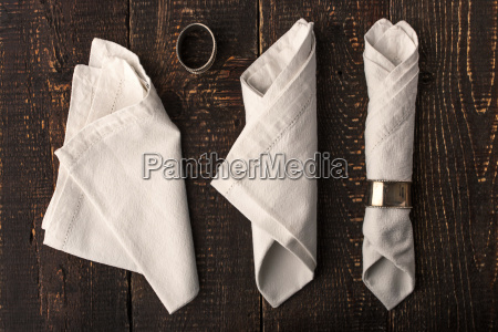 set of the napkins with vintage