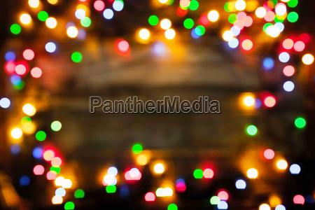 verschwrungen rahmen des bunten weihnachtsfestes auf