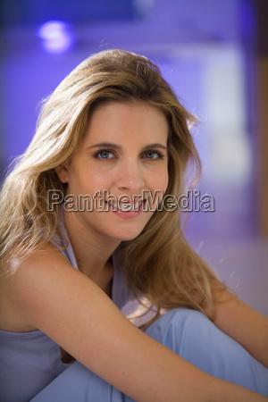 woman beauty portrait smiling