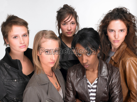women looking at the camera
