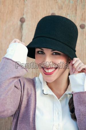 portrait of a woman wearing a