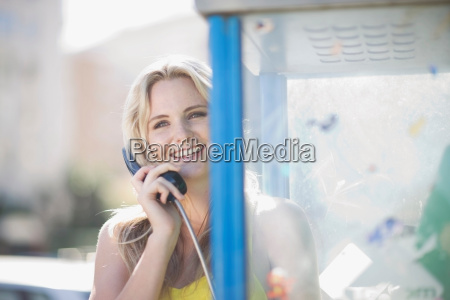 woman doing a phone call