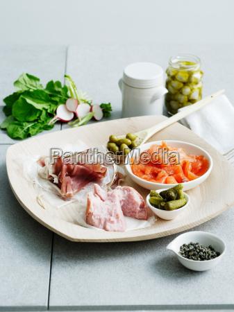 comida primer plano bienestar placa comodidad