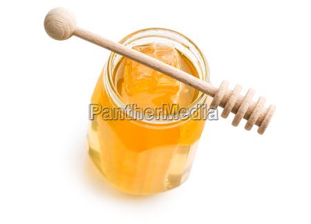 frischer honig mit waben