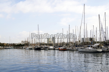 yacht jacht port kahn faere barcelona